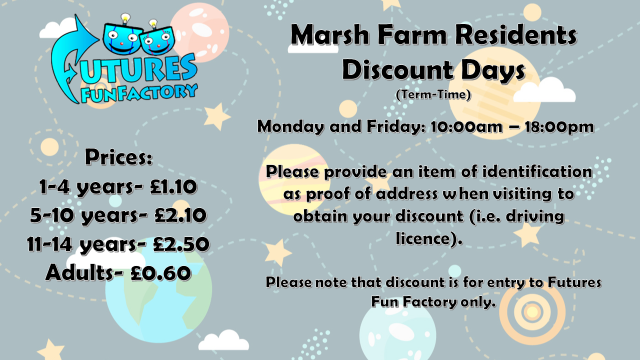 Marsh Farm Discount