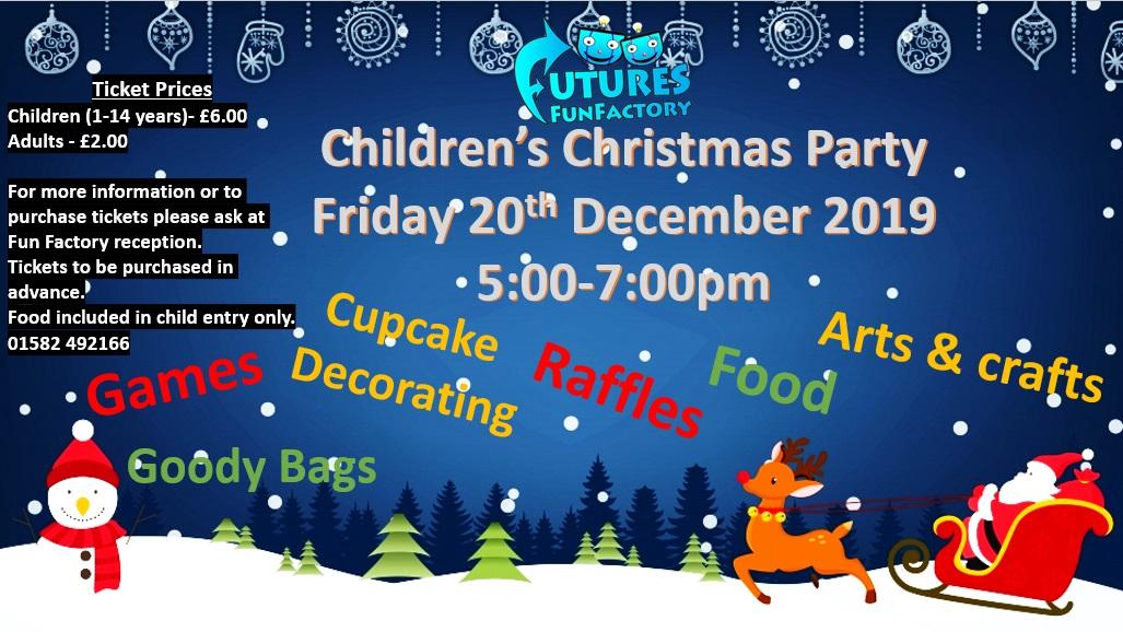 Fff Childrens Christmas Party 2019 Marsh Farm Futures
